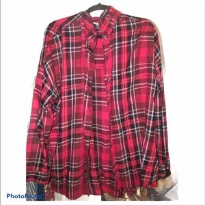 Old navy plaid flannel